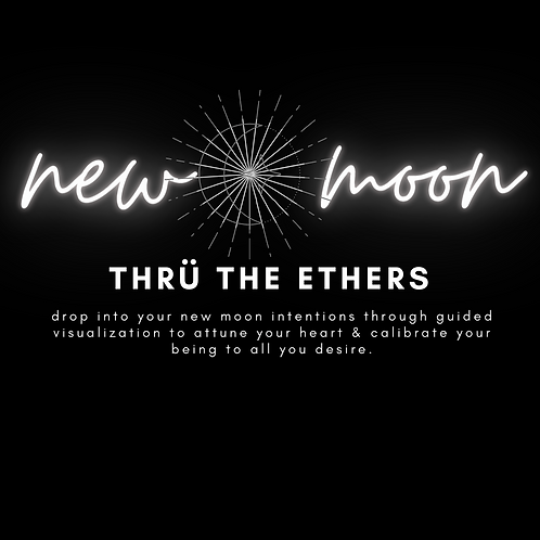 New Moon:: Gathering through the ethers