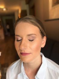 Make-up für Hüttenhochzeit