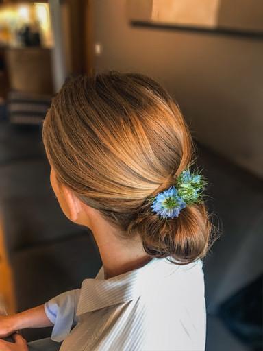 Haarstyling für die Braut in Reutte