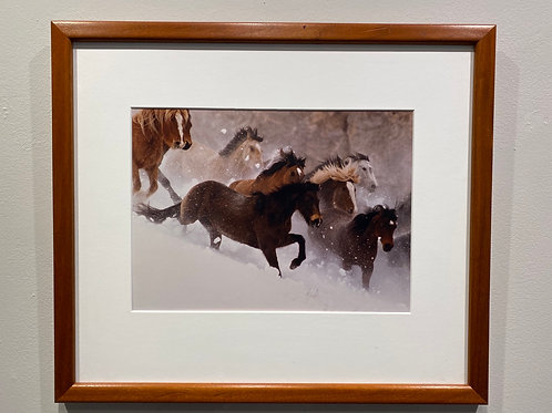Photograph - Running Horses