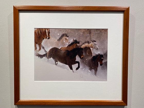 Pin #2 - Running Horses
