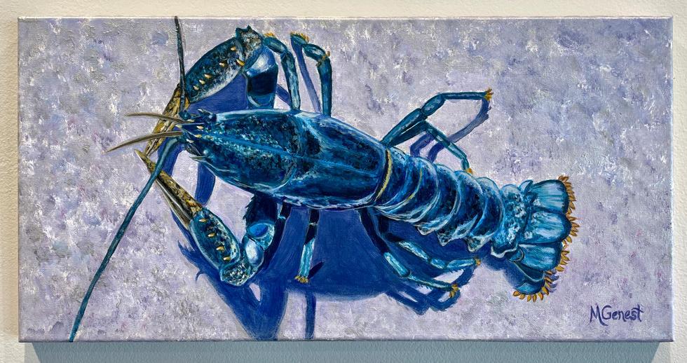 Marguerite Genest -  Blue Lobster.jpg