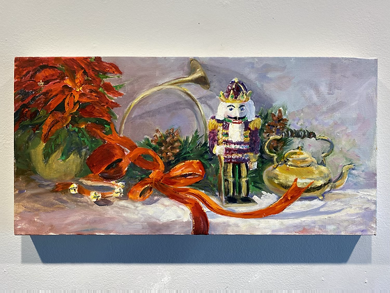 Pin #16 - Untitled Holiday Painting