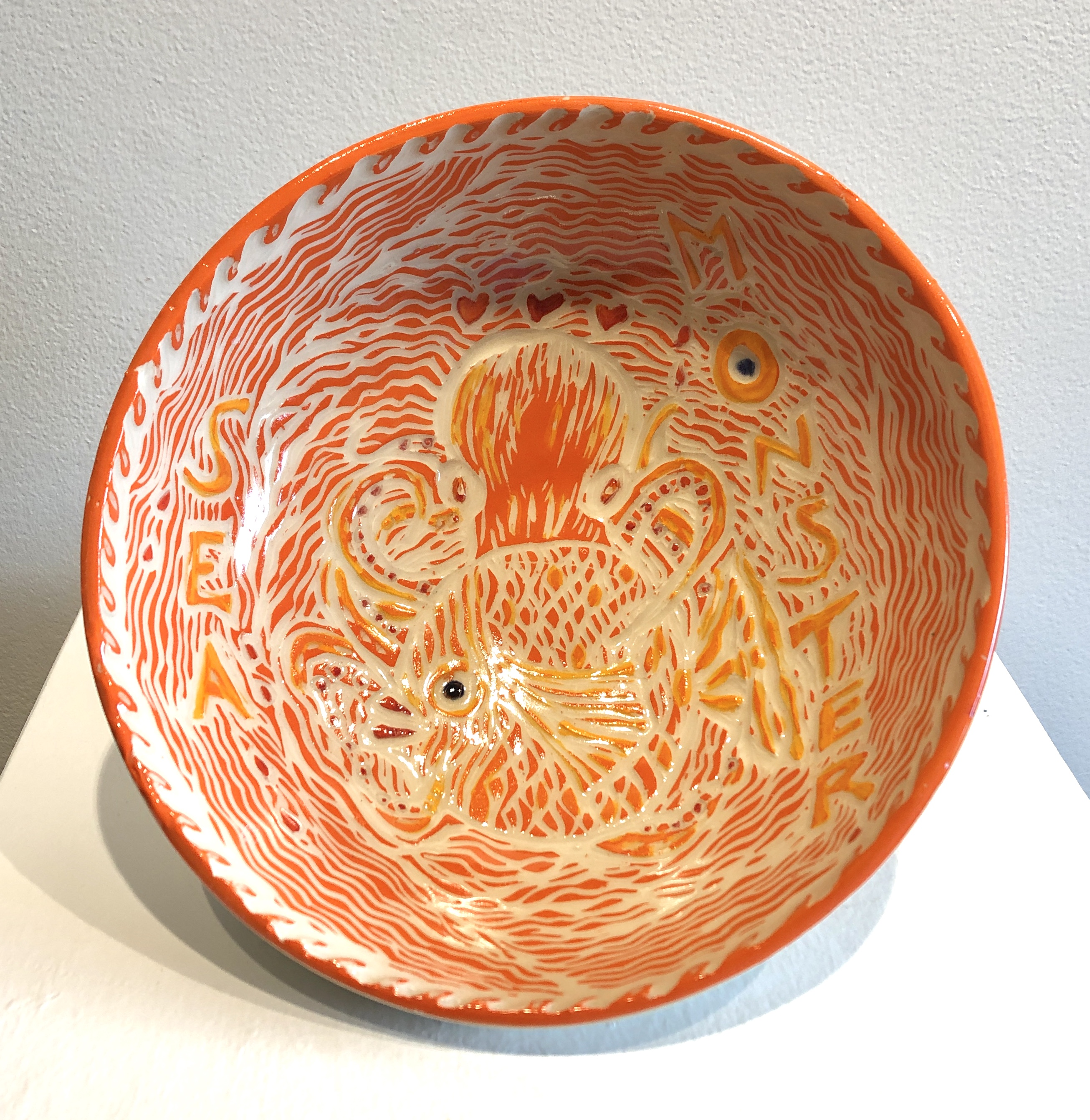 Susan Palmer - Sea Monster Bowl
