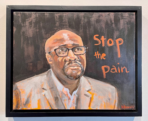 Barbara Berry -  Stop the Pain: Portrait of Philonise Floyd