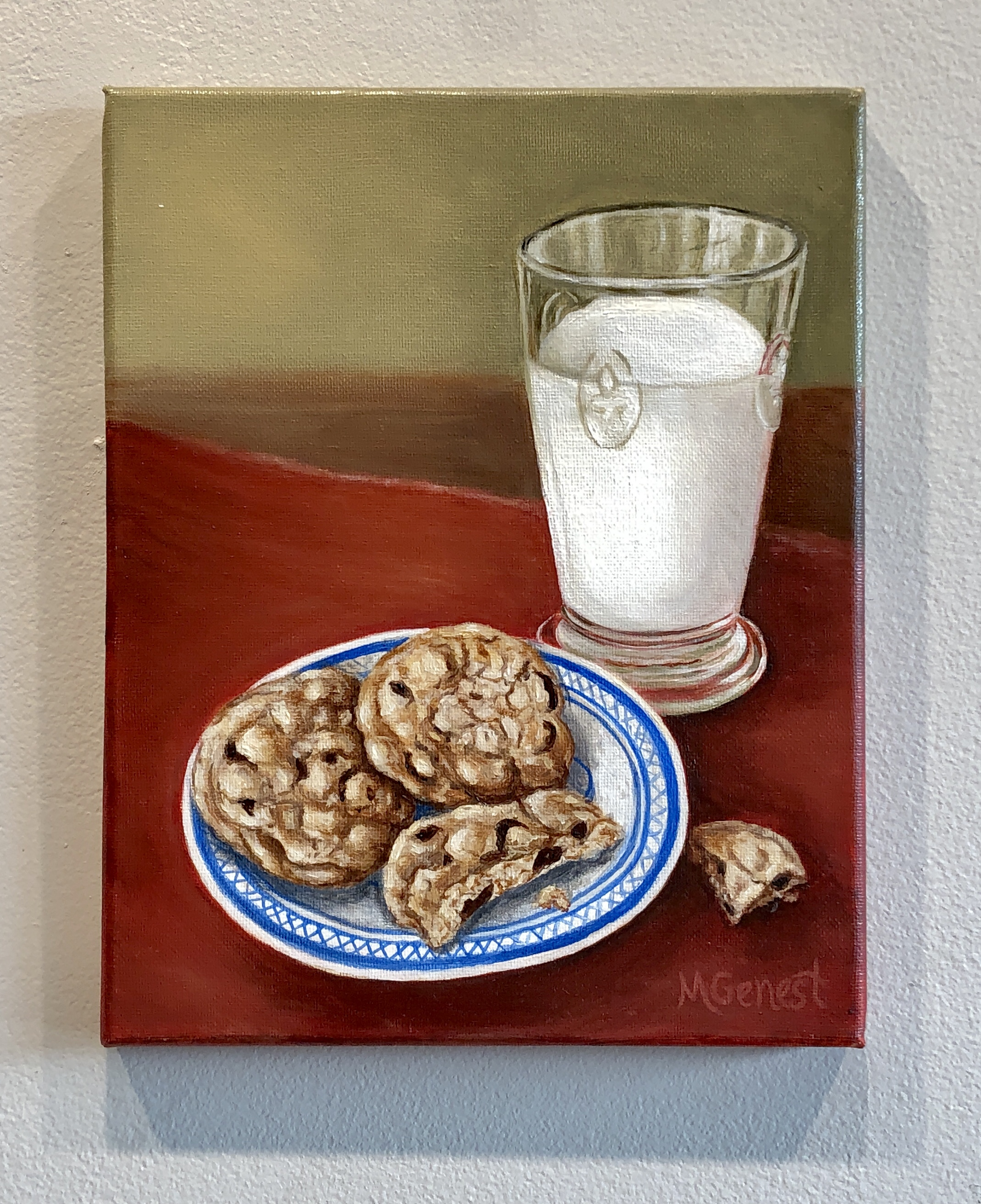 Marguerite Genest - Cookies and Milk