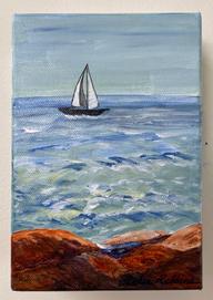 Off the Coast - Kennebunkport - Leslie Robbins.JPG