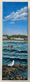 Surfing on Goochs Beach - Marguerite Genest.JPG