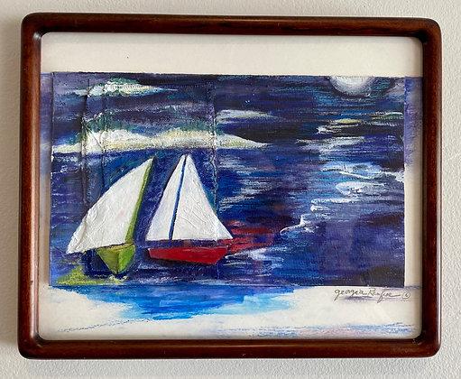 Georgia  Renfroe -  Moonlight Sailing