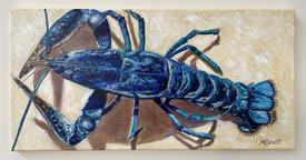 Blue Lobster - Marguerite Genest.JPG