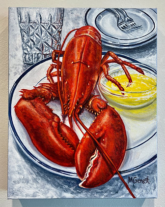 Marguerite Genest -  Lobster Dinner