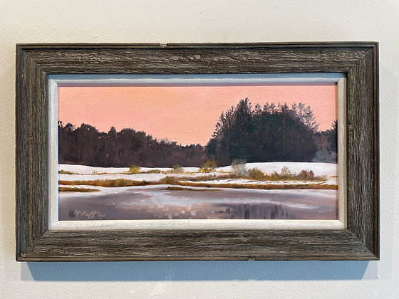 Scott McNeff -  Winter Sunrise at Parson's