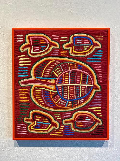 Pin #26 - Untitled Fabric Art