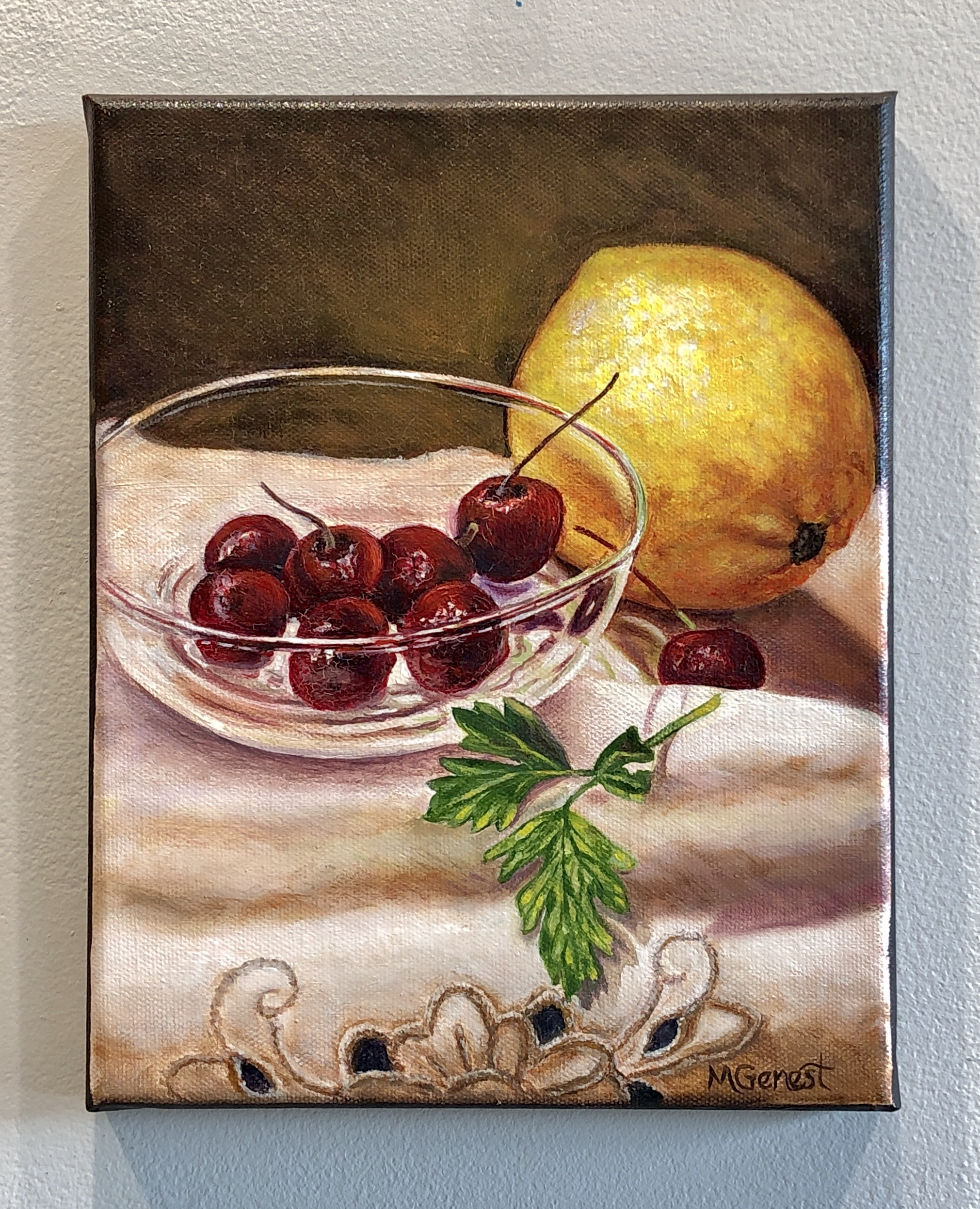 Marguerite Genest - Lemons Cherries