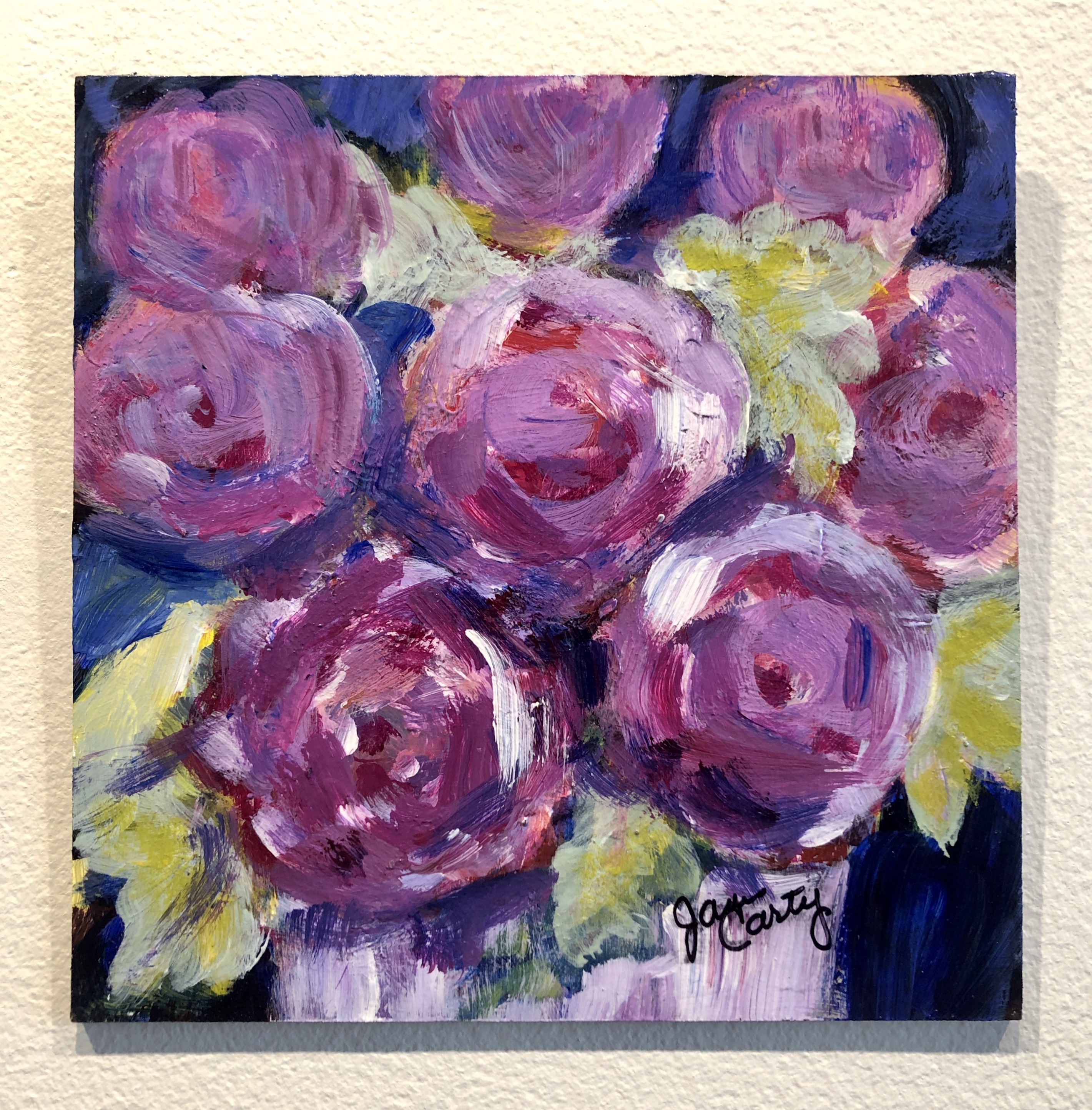 Janis Carty - Valentine Roses In Bloom