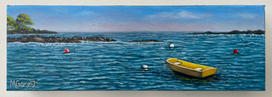 Little Yellow Boat - Marguerite Genest.JPG