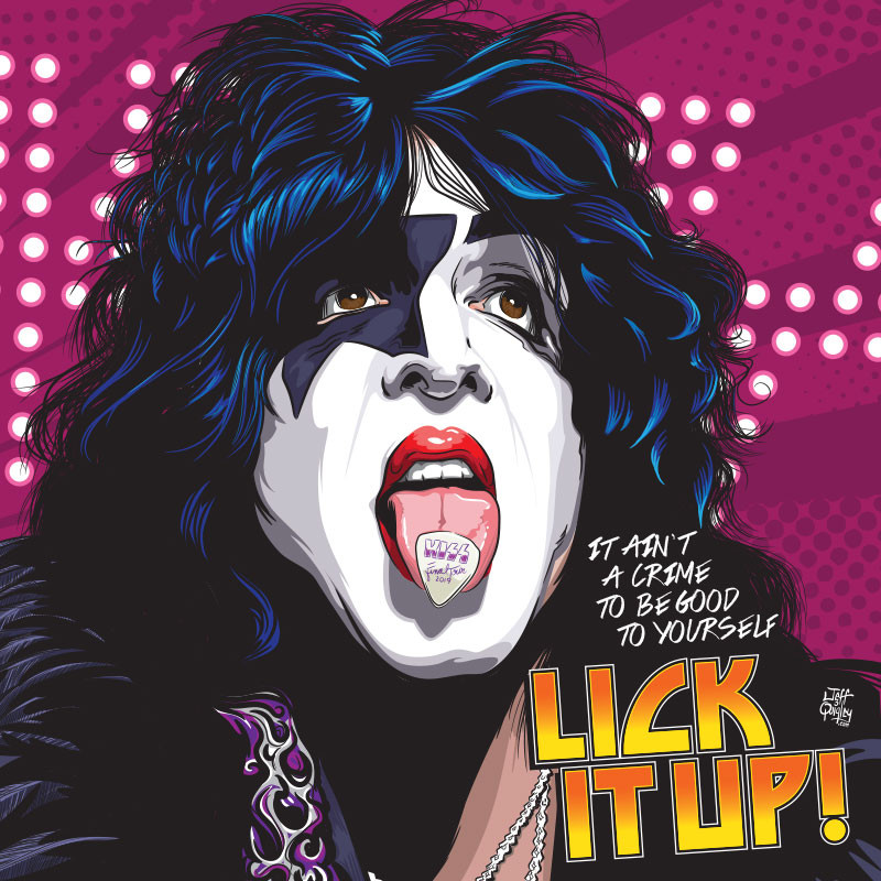 Lick It Up - KISS/Paul Stanley
