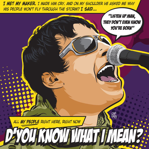 D'you Know What I Mean? - Oasis/Liam Gallagher