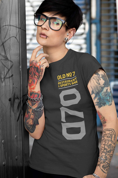 t-shirt-mockup-featuring-an-androgynous-
