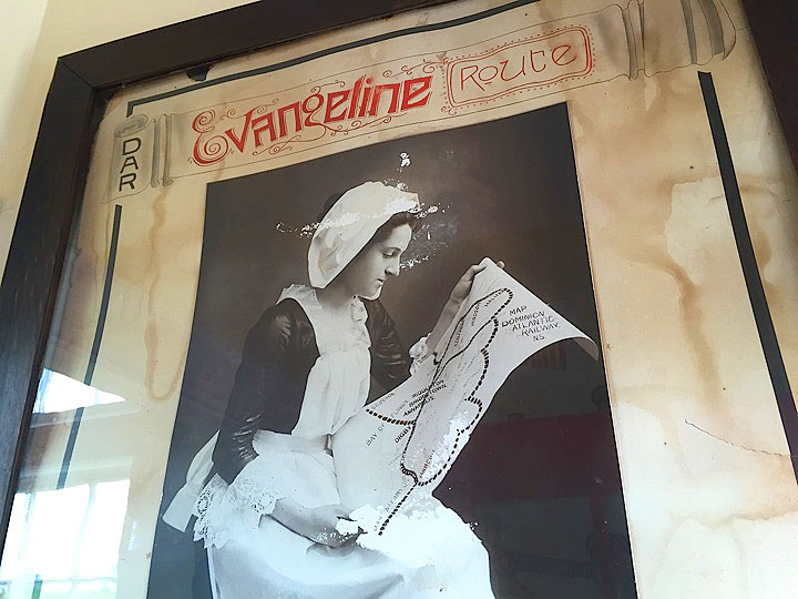 Evangeline Route Poster