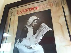 Evangeline Route Poster