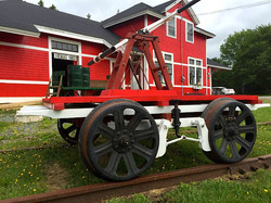 Hand-pump Rail Car