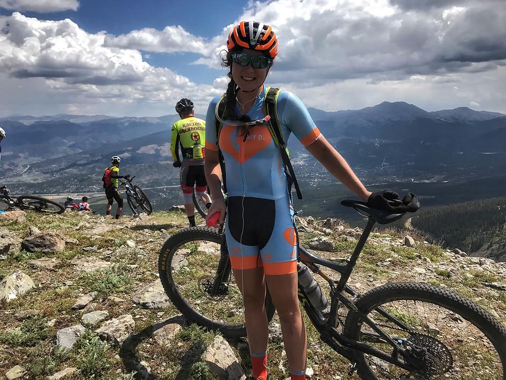 Top of Wheeler Pass