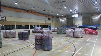 Nerf indoors after Laser Tag