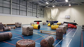 Laser Tag in a sports hall
