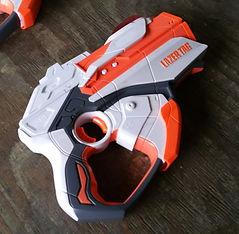 Orange mini tag Blaster