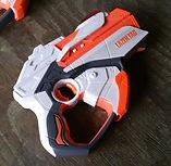 orange hasbro blaster