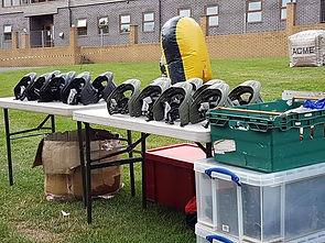 Kit set up off site