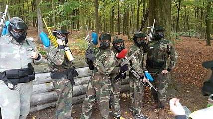 junior paintballers
