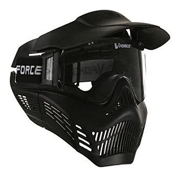V force mask used for Battlezone Archery Tag