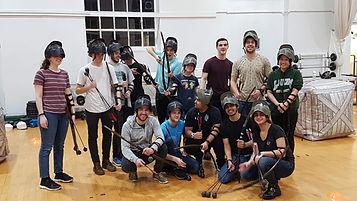 Leeds University Archery club indoors