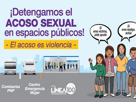 """Campaña """"El acoso es violencia"""" - Perú"""