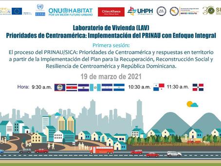 Primera Sesión del Laboratorio de vivienda: Prioridades de Centroamérica