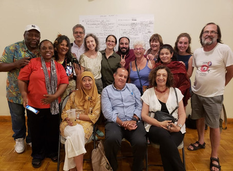 Reunión grupo de trabajo Mujeres y Géneros de la Plataforma por el Derecho a la Ciudad - Nueva York
