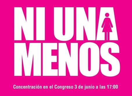 #NiUnaMenos Marchas en Argentina dicen basta de femicidios