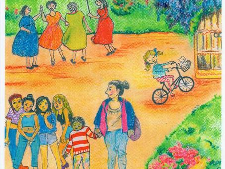 Agenda de Mujeres por la Ciudad en América Latina ¡Para colorear!