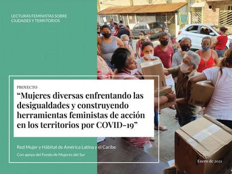 Nueva publicación de los foros de Lecturas feministas sobre ciudades y territorios
