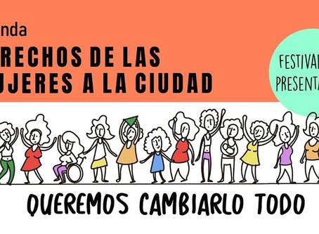 Festival por los Derechos de las Mujeres a la Ciudad en Córdoba