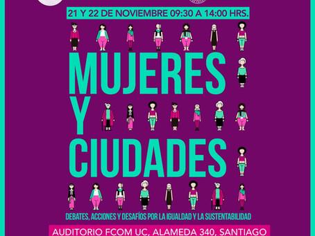 Seminario Internacional Mujeres y Ciudades en Chile