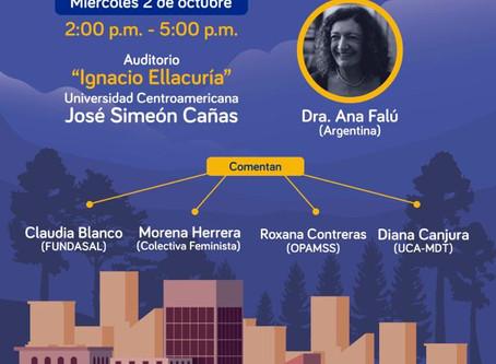 Foro Nueva Agenda Urbana en El Salvador