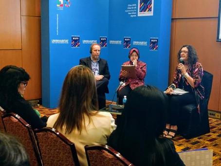 Ciudades seguras para mujeres y niñas, un debate presente en el Noveno Foro Urbano Mundial