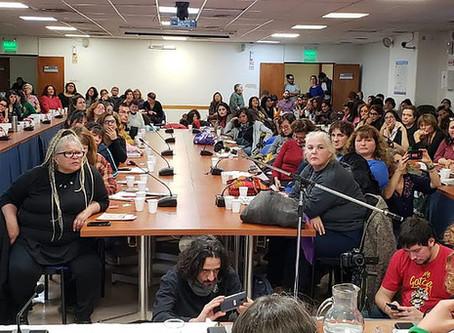 Un plenario sobre hábitat y feminismo en Argentina