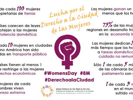 Manifiesto por El Derecho a la Ciudad de las Mujeres