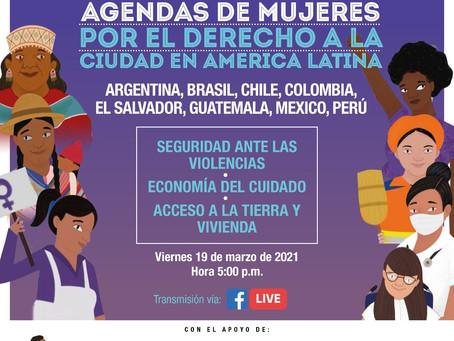 Agendas de Mujeres por el Derecho a la Ciudad en América Latina - 2° encuentro