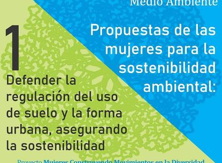 Propuestas para la sostenibilidad ambiental