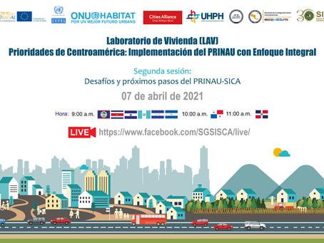 Segunda Sesión del Laboratorio de vivienda: Prioridades de Centroamérica